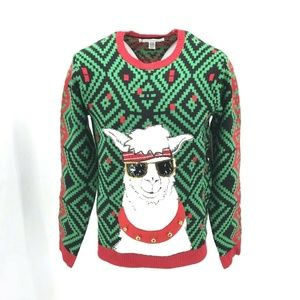 Jolly Sweaters Men's Ugly Christmas Sweater Sz M
